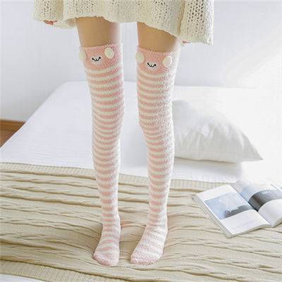 Warm Unicorn Knee Socks