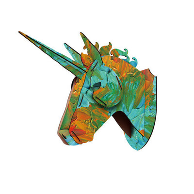 3 Patterns Wooden Unicorn Head Wall Decor - Well Pick Review