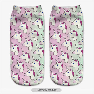 16 Styles Colorful Unicorn Ankle Socks - Well Pick Review
