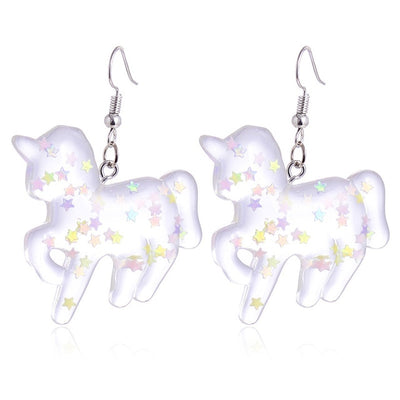 Colorful Star Unicorn Earrings - Well Pick Review
