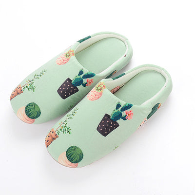 Unicorn Flamingo Cactus Indoor Slippers
