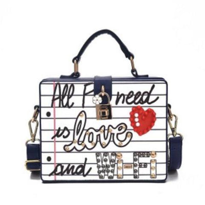 Letter Box Shape Handbag