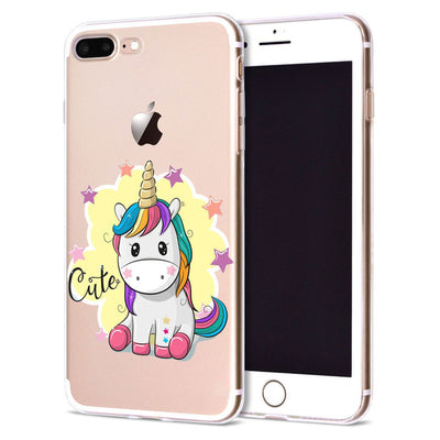 Unicorn Transparent iPhone Case