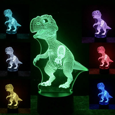 Color Changing Dinosaur Lamp - Well Pick Review