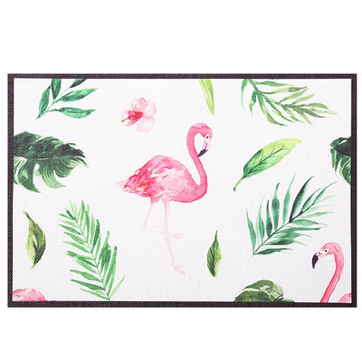 Unicorn Flamingo Table Mat