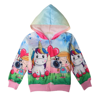 Unicorn Rainbow Kid Jacket