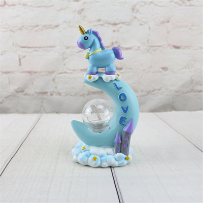 Unicorn Moon Shape LED Night Light