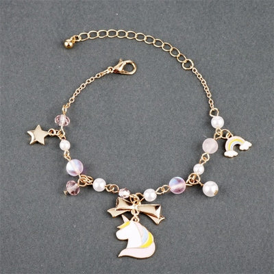 Crystal Pearl Unicorn Bracelet - Well Pick Review