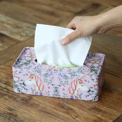 Unicorn Tissue Box