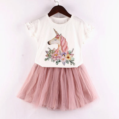 Unicorn Girl Clothing Set