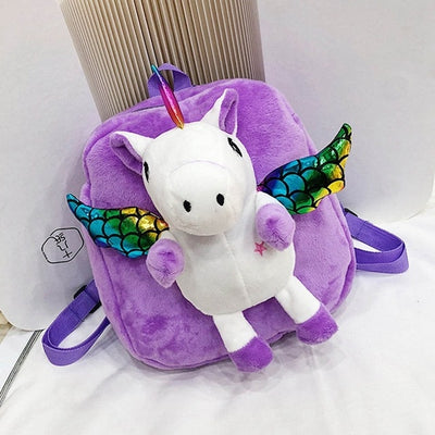 Furry-winged Unicorn Backpack