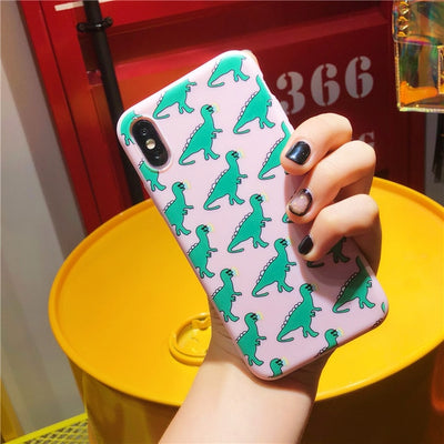 Cute Dinosaur Pattern iPhone Case - Well Pick Review