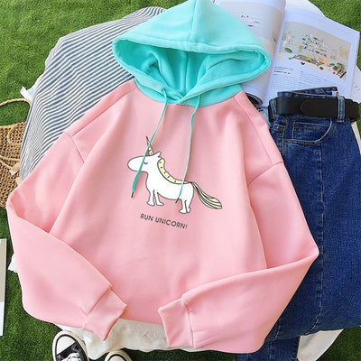 """ Run Unicorn "" Harajuku Hoodie - Well Pick Review"