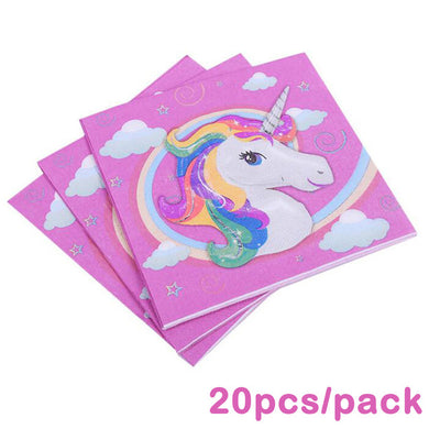 Unicorn Tissue Party Supplies