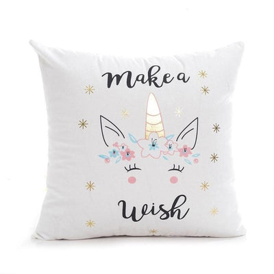 Deluxe Golden Print Unicorn Pillow Case - Well Pick Review