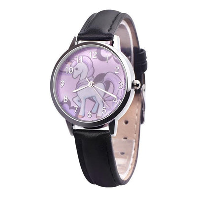 Unicorn Leather Band Watch