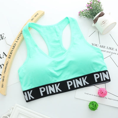 PINK Sporty Crop Top