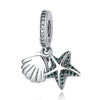 Starfish & Sea Shell Bead Charms