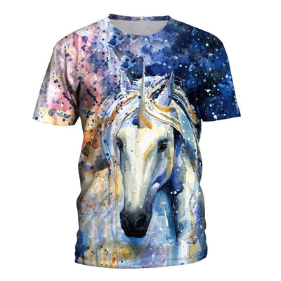 Artistic Unicorn 3D Print T-shirt - Well Pick Review
