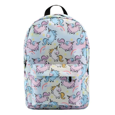 Unicorn School Girl Backpack