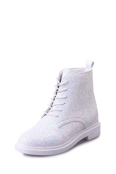 Autumn Glitter Lace-up Boots - Well Pick Review