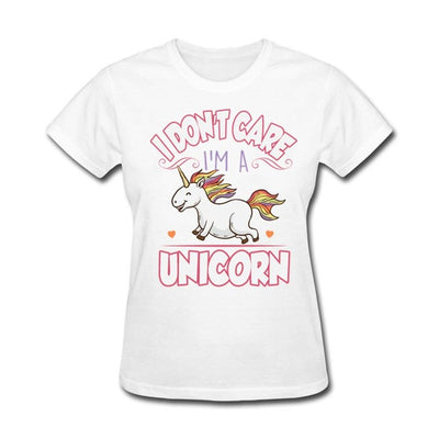 """I don't care I'm a unicorn"" T-Shirt - Well Pick Review"
