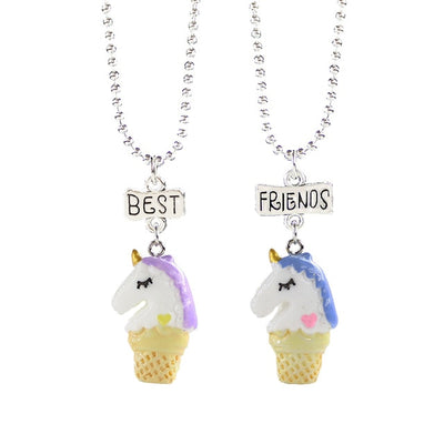 Unicorns Best Friends Necklace Set