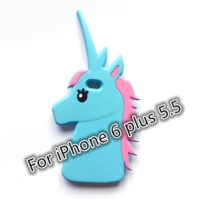 Fantastic Unicorn Soft Silicone iPhone/Samsung Case - Well Pick
