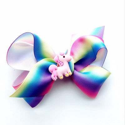 Cute Unicorn Rainbow Ribbon Hair Clip - Well Pick Review