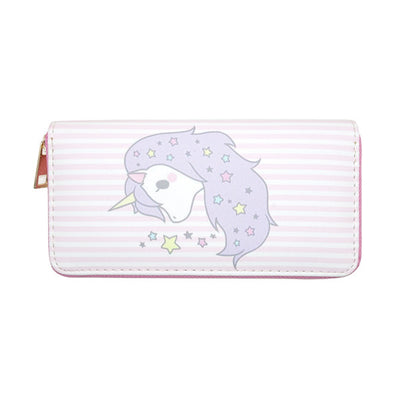 Lady Unicorn Clutch Wallet