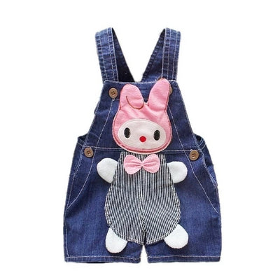 Kid's Denim Romper