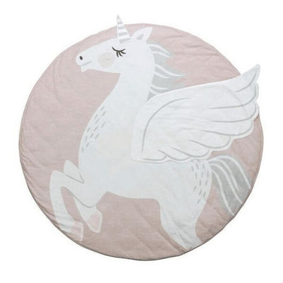 Cotton Unicorn Comfy Round Playing Mat - Well Pick Review