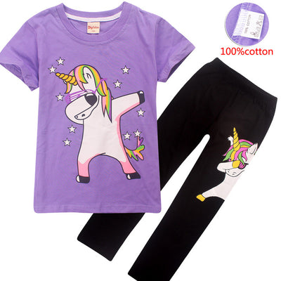 Unicorn Kid Sleepwear Set