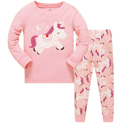 Unicorn Long Sleeve Kid Clothing Set