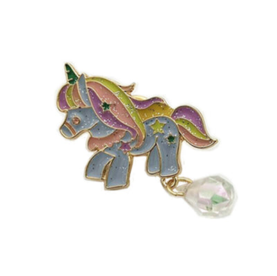 Fairy Tale Unicorn Metal Brooch Pins - Well Pick Review