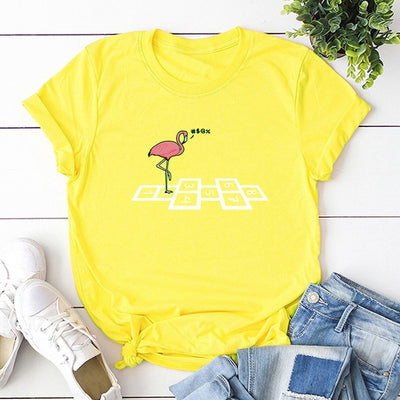 Number Flamingo T-shirt