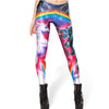 Rainbow Unicorn T-Rex Leggings