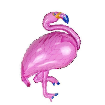 Jumbo Pink Flamingo Balloons Tropical Party Decoration
