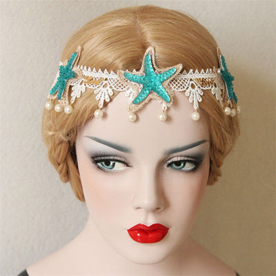 Mermaid Sea Shell Handmade Headband