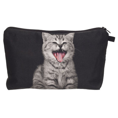 New Arrival Lovely Funny Cat Makeup Bag