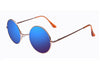 Round Vintage Polaroid Sunglasses Driving Polarized Glasses