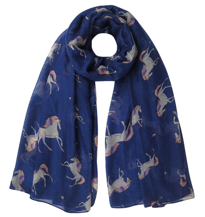 4 Colors Fashion Unicorn Print Scarf - Well Pick Review