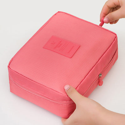 Awesome Zippered& Layered Cosmetics Travel Bag - Well Pick Review