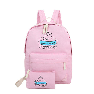 2pcs/set Unicorn Backpack & Makeup Bag Set - Well Pick Review