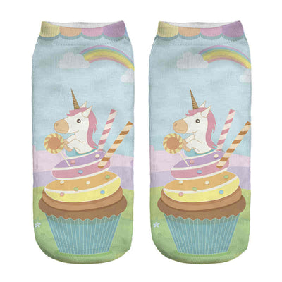 21 Styles Unicorn Print Ankle Socks - Well Pick Review