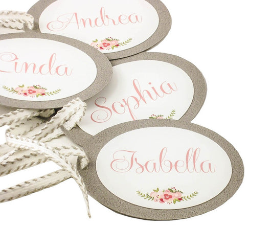 SET of Bridesmaid Gift Tags Maid of Honor Tags Customizable Gift Tags Birthday Tags