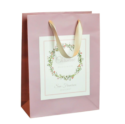 lilac paper gift bags