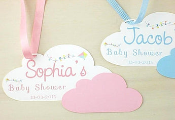 personalized baby shower tags