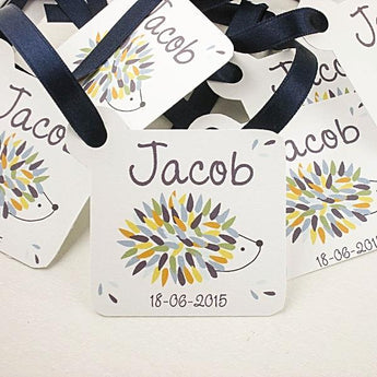 Set of 10 Baby Shower favor tags