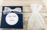Set of 10 Baby Shower boy favor bag